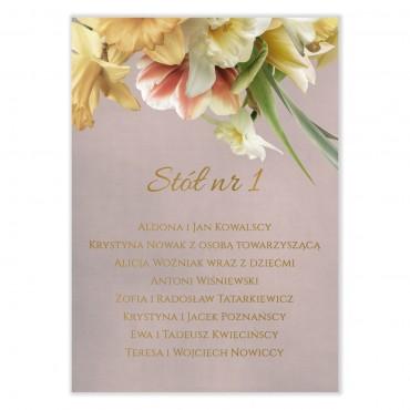 Plan stołów na wesele Floral 05