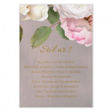 Plan stołów na wesele Floral 07