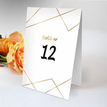 Numery stolików na wesele Boho nr 17