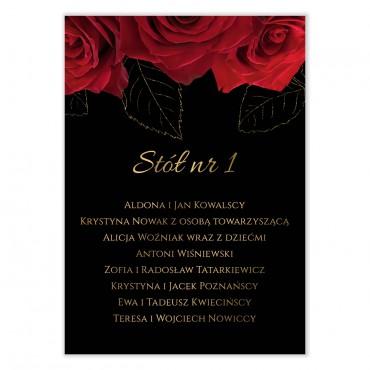 Plan stołów na wesele Floral 14