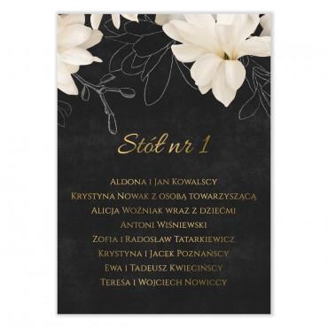 Plan stołów na wesele Floral 11