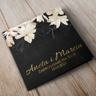 Zaproszenia Ślubne Floral 11B