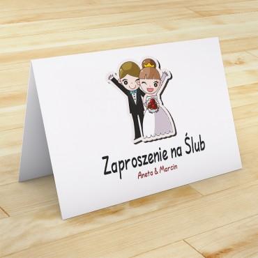 Zaproszenia Ślubne Zabawne nr 22