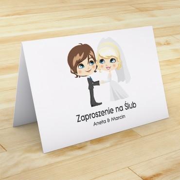 Zaproszenia Ślubne Zabawne nr 41