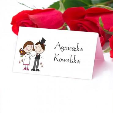 Winietki ślubne na wesele