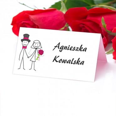 Winietki Ślubne na Stół Zabawne 19