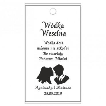 Zawieszki na Wódkę Weselną B&W nr 03