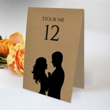 Numery stolików na wesele EKO 14