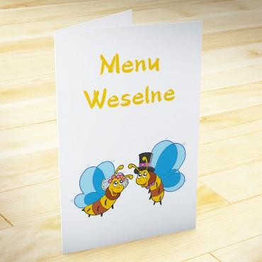 Humorystyczne menu weselne.