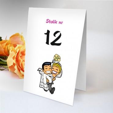 Numery stolików na wesele Zabawne 24
