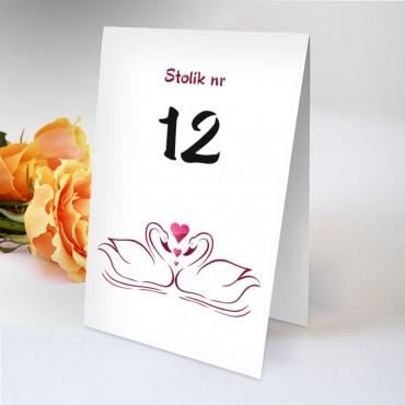 Numery stolików na wesele Zabawne 65