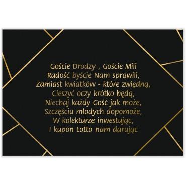 Bileciki do Zaproszeń Geometryczne 03a