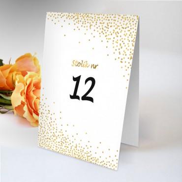 Numery stolików na wesele Boho nr 14