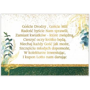 Bileciki do Zaproszeń Botaniczne 01