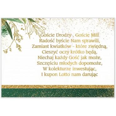 Bileciki do Zaproszeń Botaniczne 02