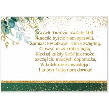 Bileciki do Zaproszeń Botaniczne 03