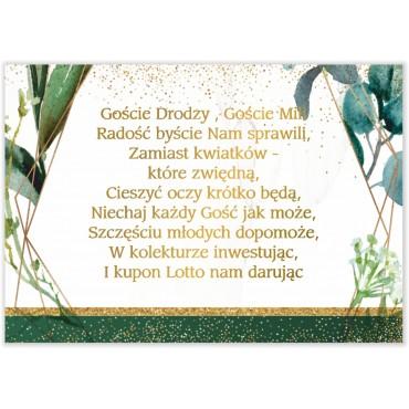 Bileciki do Zaproszeń Botaniczne 05