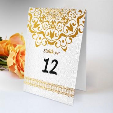 Numery stolików na wesele Boho nr 19