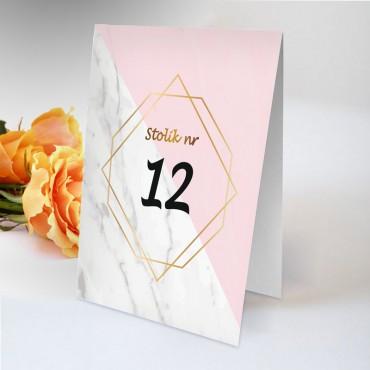 Numery stolików na wesele Boho nr 20