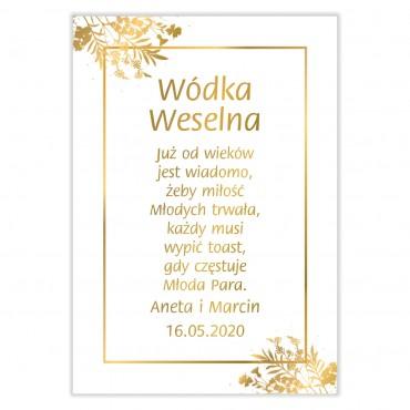 Zawieszki na Wódkę Weselną...