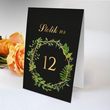 Numery stolików na wesele Kwiatowe 06A