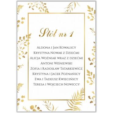 Plan stołów na wesele Geometryczny 14b