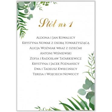 Plan stołów na wesele Kwiatowy 03b