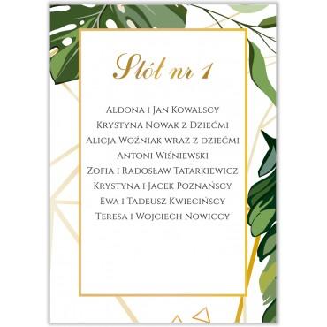 Plan stołów na wesele Kwiatowy 04b