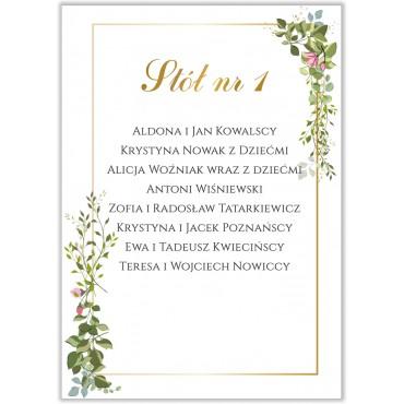 Plan stołów na wesele Kwiatowy 07b
