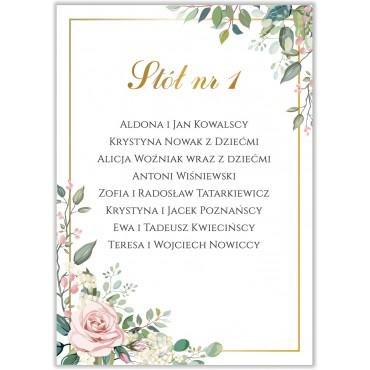 Plan stołów na wesele Kwiatowy 08b