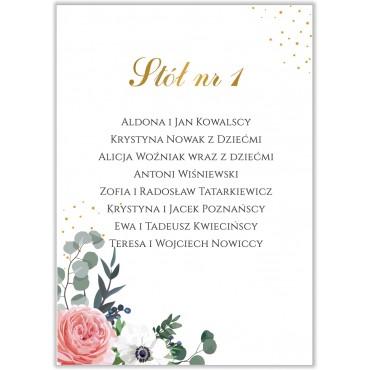 Plan stołów na wesele Kwiatowy 09b