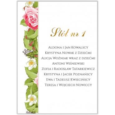 Plan stołów na wesele Kwiatowy 13b