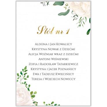 Plan stołów na wesele Kwiatowy 16b
