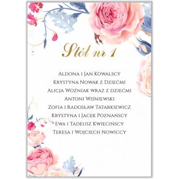 Plan stołów na wesele Kwiatowy 18b