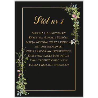 Plan stołów na wesele Kwiatowy 07a