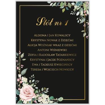 Plan stołów na wesele Kwiatowy 08a