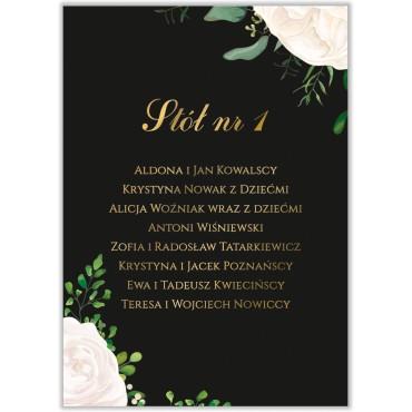 Plan stołów na wesele Kwiatowy 16a