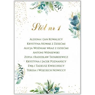 Plan stołów na wesele Botaniczny 01