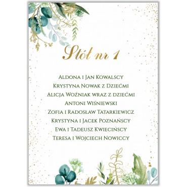 Plan stołów na wesele Botaniczny 03