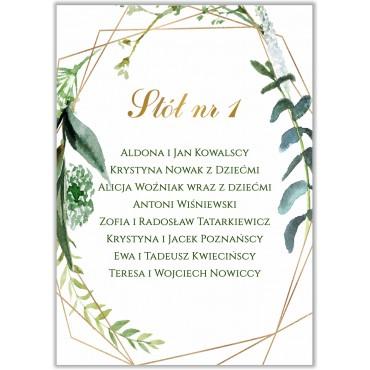 Plan stołów na wesele Botaniczny 04