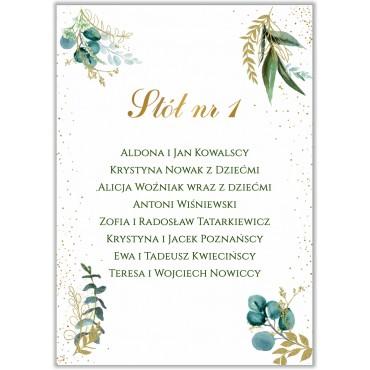Plan stołów na wesele Botaniczny 06