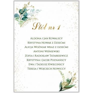 Plan stołów na wesele Botaniczny 08