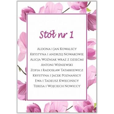 Plan stołów na wesele Boho nr 10