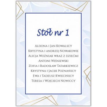 Plan stołów na wesele Boho nr 12