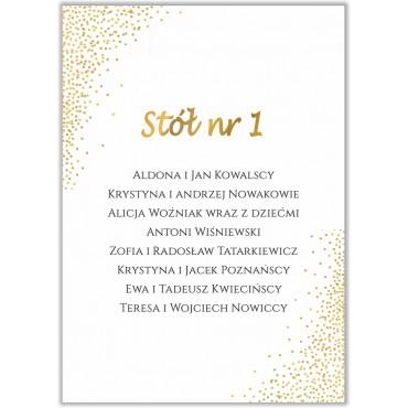 Plan stołów na wesele Boho nr 14