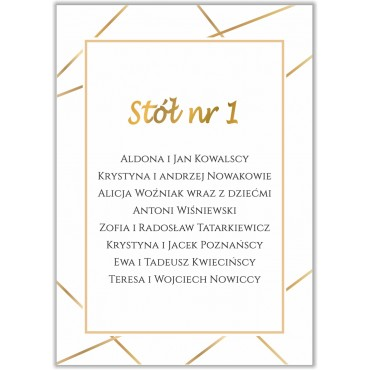 Plan stołów na wesele Boho nr 17