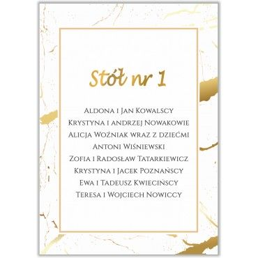 Plan stołów na wesele Boho nr 18