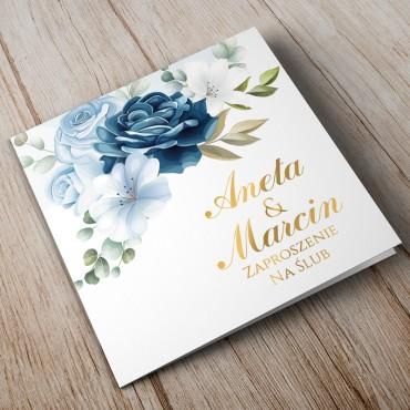 Zaproszenia Ślubne Chabrowe nr 08
