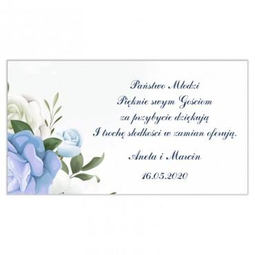Etykiety na ciasto weselne Chabrowe 09