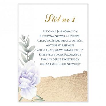 Plan stołów na wesele Chabrowa 12